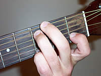 Guitar Chord Gsus4 Voicing 1