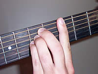 Guitar Chord Gsus4 Voicing 2