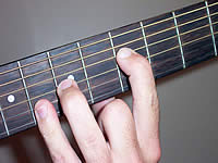 Guitar Chord Gsus4 Voicing 3