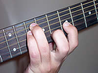 Guitar Chord Gsus4 Voicing 4