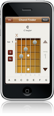 Chord Finder iPhone app